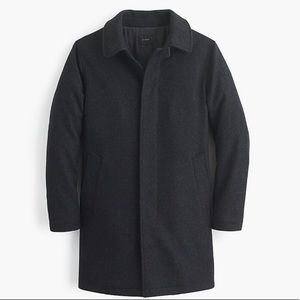 J. Crew Mens Wool Car Coat with Thinsulate